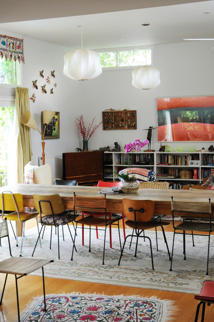 Mugga Way Residence Eclectic Dining Room