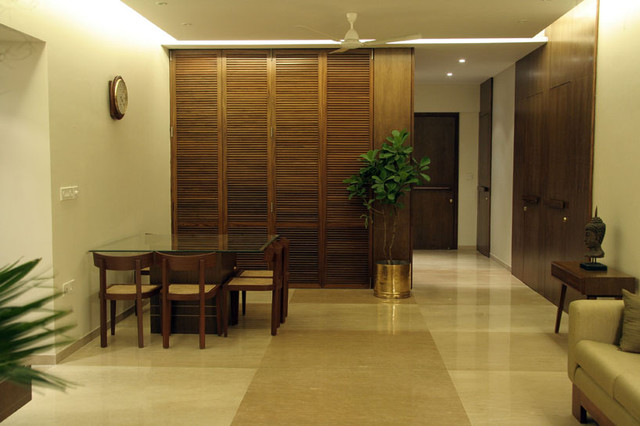 Mumbai Home contemporary dining room
