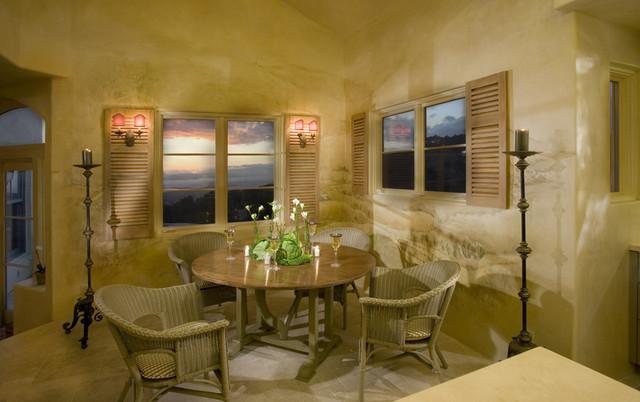 mural faux paint interior shutters tumbled tile floors. Black Bedroom Furniture Sets. Home Design Ideas