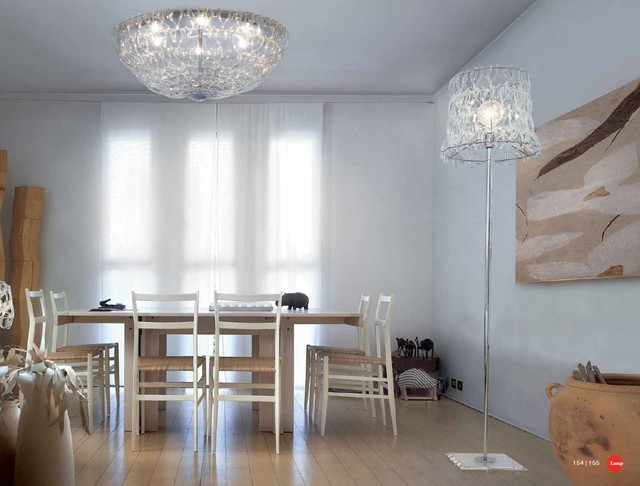 Murano Glass Lighting and Chandeliers - Location Shots modern-dining-room