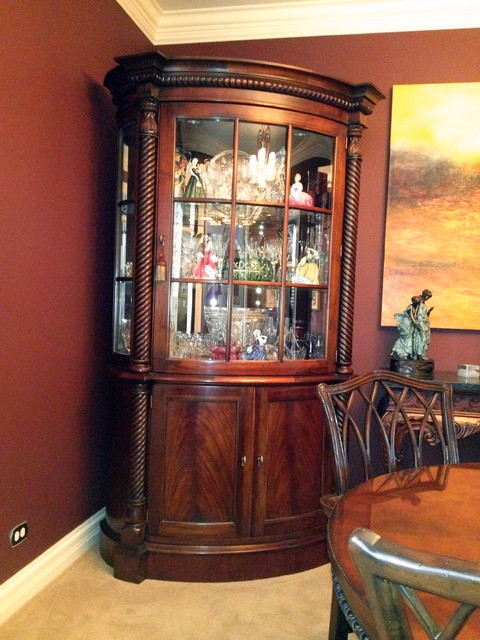My china cabinets traditional dining room atlanta for Dining room armoire