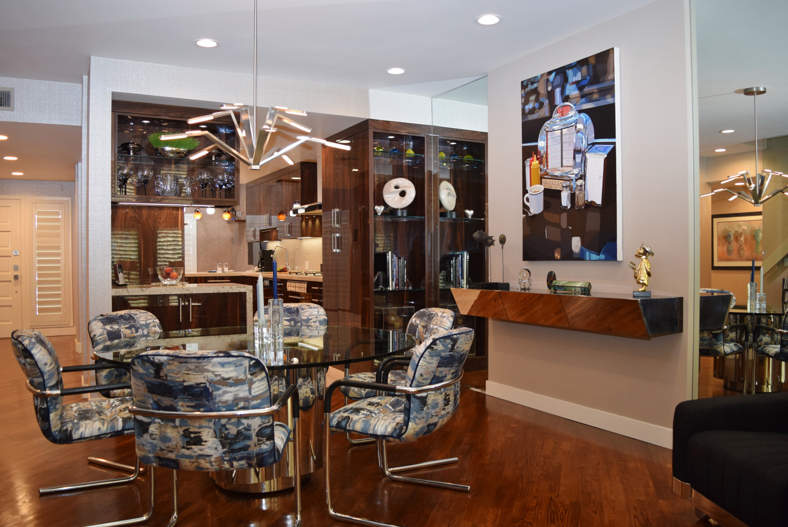 My Contemporary Kitchen, Dining and Living Room Remodel in Marina Del Rey