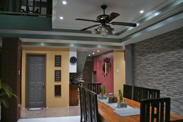 my country home in the city of pines, Baguio City asian-dining-room