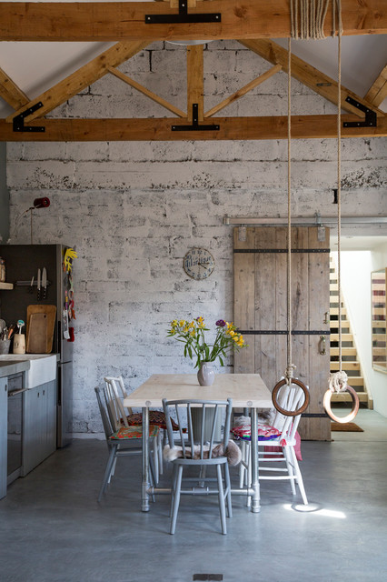My house – photographed by Doreen Kilfeather rustic-dining-room