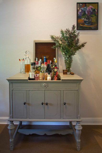 My Houzz: A 1941 DIY Cottage Update — Aided by a Lending Library - Eclectic - Dining Room - san ...