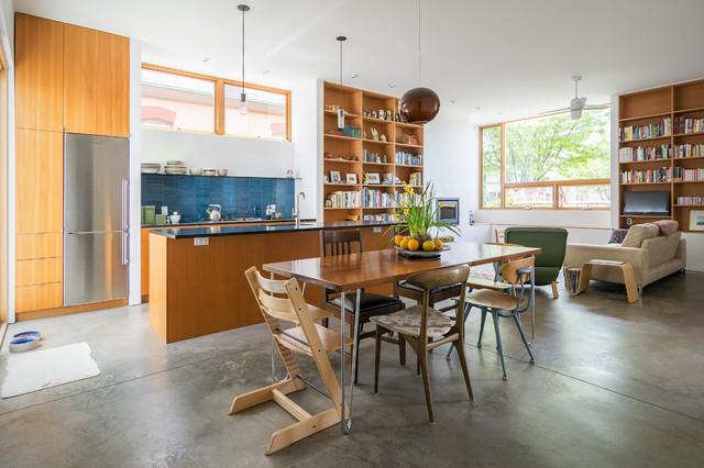 My Houzz: contemporary-dining-room