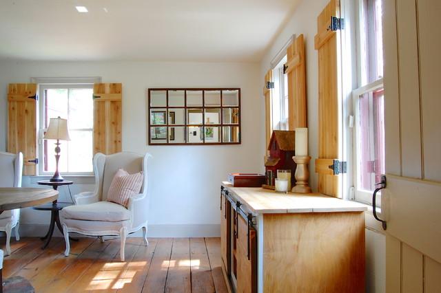 My Houzz A Pre Revolutionary Home For Modern Family Farmhouse Dining