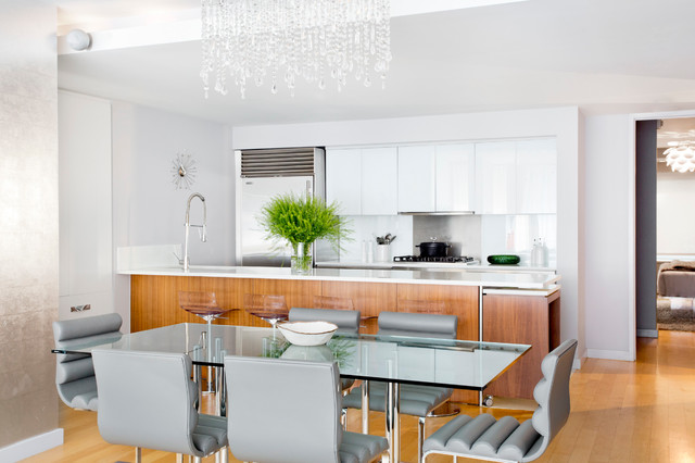 My Houzz A West Chelsea Duplex Combines Modern Style And Glamour