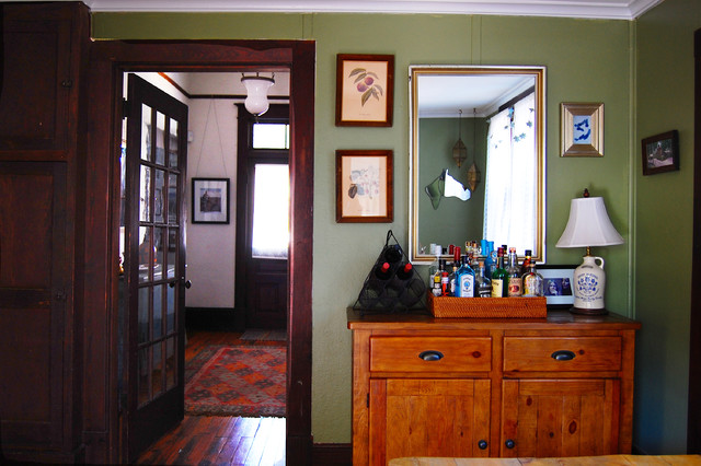 My Houzz An Eclectic 1920s Farmhouse In Georgia Dining Room