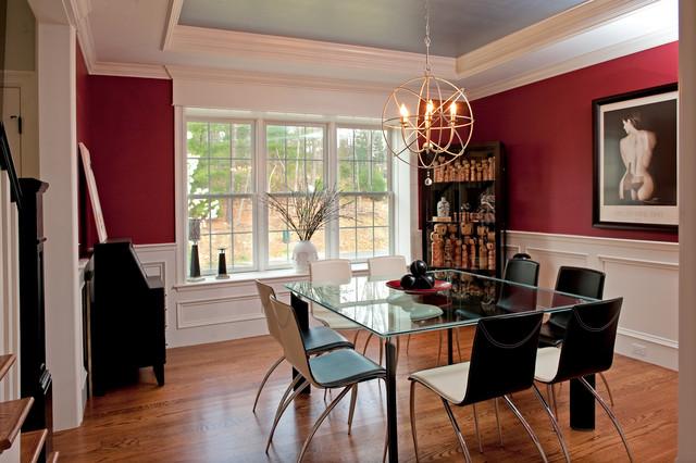 my houzz asian influences and contemporary interior design cl sico comedor boston de. Black Bedroom Furniture Sets. Home Design Ideas