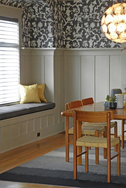 Seattle, WA: Lisa Hebner craftsman-dining-room