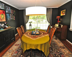 Sarah Greenman eclectic dining room