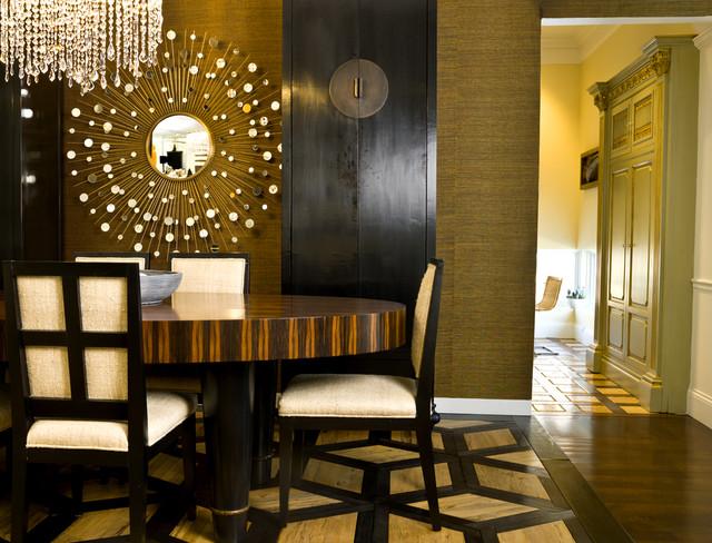 Industry Insider contemporary-dining-room