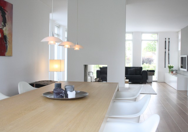 My Houzz Contemporary Clasic In The Netherlands Scandinavian Dining Room