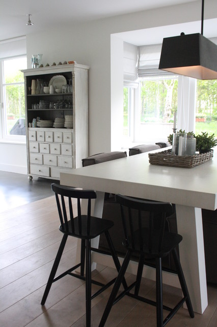 My Houzz: Contemporary Country Style In The Netherlands Contemporary Dining  Room