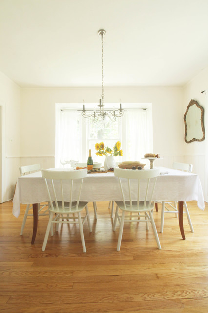My houzz cozy updates for a 1908 new york colonial Salle a manger new york