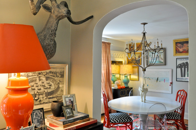 Craftiness and Color in Warrenton - Eclectic - Dining Room ...