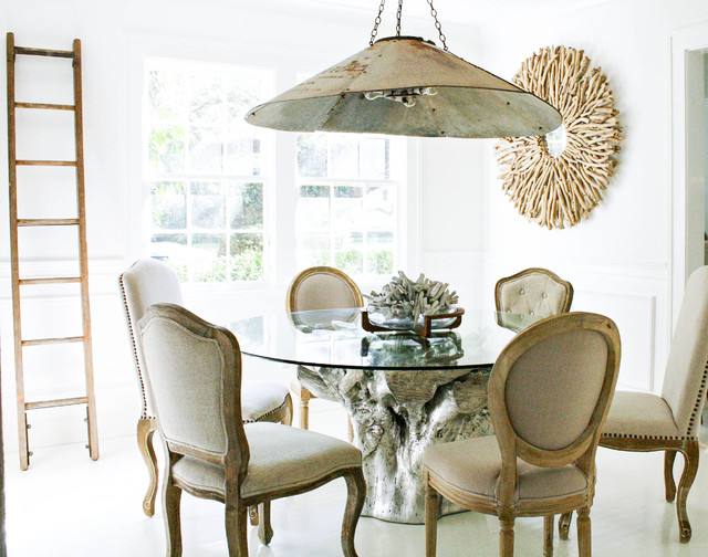 My Houzz Dreamy Organic Style In A Tampa Cottageeclectic Dining Room