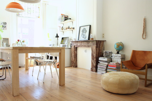 My Houzz Eclectic Amsterdam Apartment Dining Room