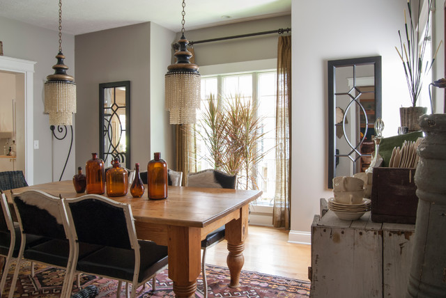 My Houzz Garage Sale Meets Glam In Ohio Eclectic