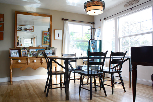 beach style dining room by Shannon Malone