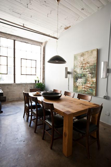 My Houzz International Meets Industrial In A Brooklyn Loft