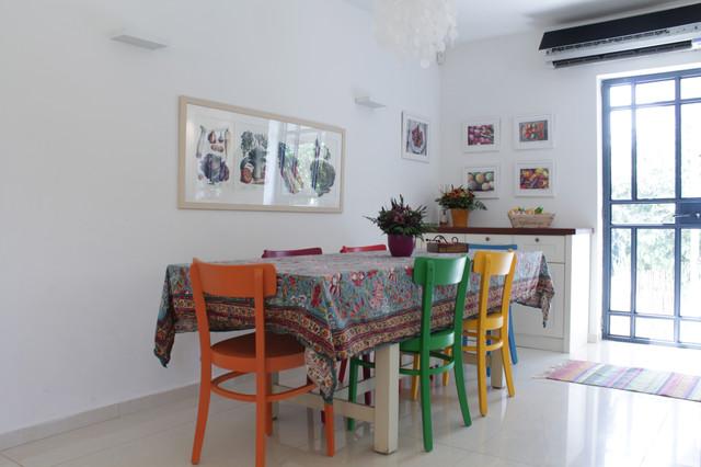 My Houzz Lior And Shiri Moshav Misgav Dov Eclectic Dining Room