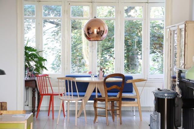 Stuhl Mix am Esstisch: 19 tolle Beispiele