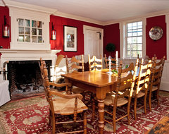 North Framingham traditional dining room