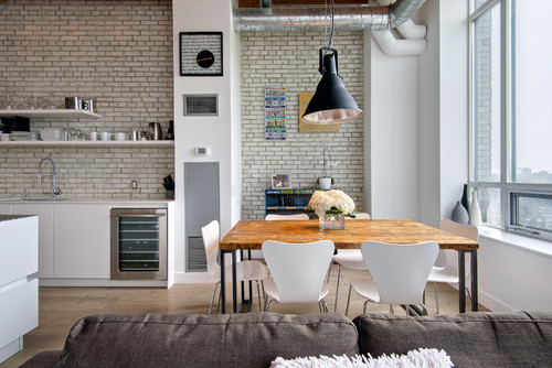 My Houzz: Modern Industrial Loft in Toronto