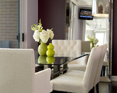Water Front in the Windy City transitional-dining-room