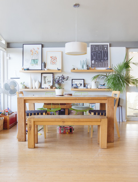 My Houzz Patience Rewards A Family In Berkeley Eclectic Dining Room