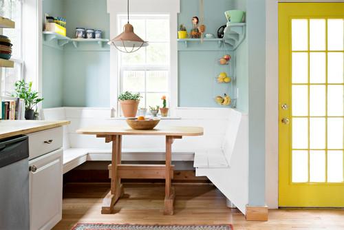 Sitzecke in der Küche: 11 tolle Beispiele für jede Raumsituation