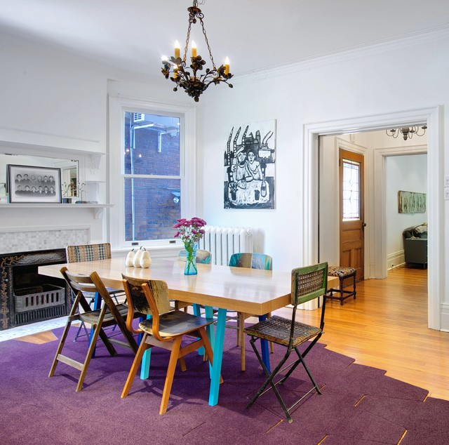My Houzz Post Architecture Albany House Eclectic Dining Room