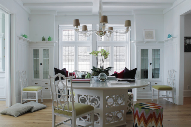 My Houzz: Richard and Maxime: Montreal contemporary-dining-room