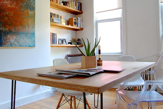 My Houzz Serene Simplicity In Brooklyn Eclectic Dining Room