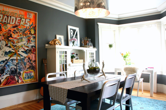 My Houzz Eclectic Dining Room