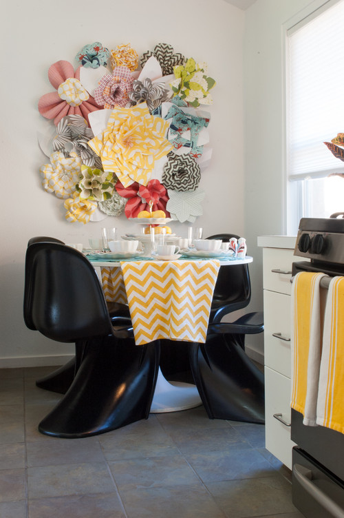 Eclectic Dining Room by Dallas Media & Bloggers Angela Flournoy