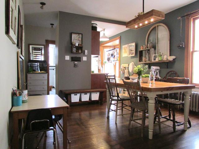 My Houzz Urban Farmhouse Dining Room