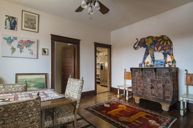 My Houzz: Lisa eclectic-dining-room