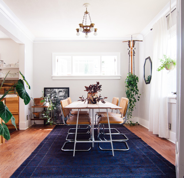 Houzz Dining Rooms: My Houzz: Welcoming Boho Design In A Colorful 1927