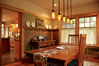 My Own House - Craftsman - Dining Room - New York - by Hoffman Grayson Architects LLP