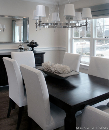 Mystic Harbor Contemporary Dining Room Other Metro By C Kramer Interiors