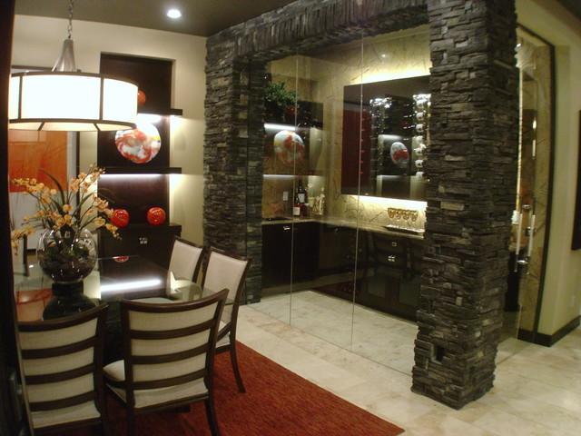 Mystic Ridge Street of Dreams home contemporary-dining-room