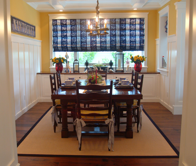 traditional dining room by Darci Goodman Design