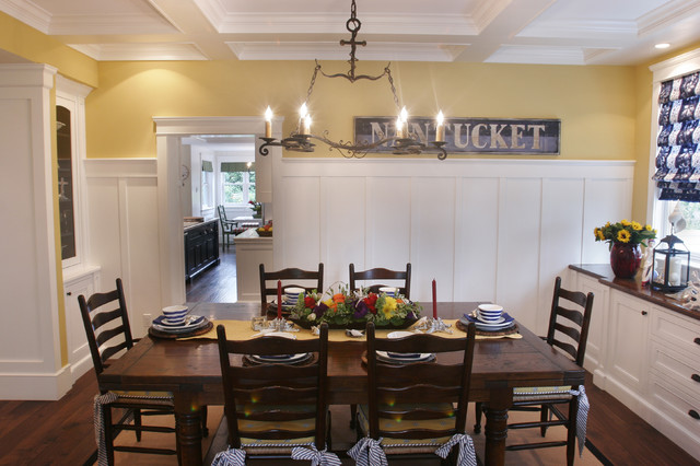 Nantucket In So Cal Beach Style Dining Room Part 43