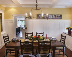 Nantucket in So Cal beach-style-dining-room