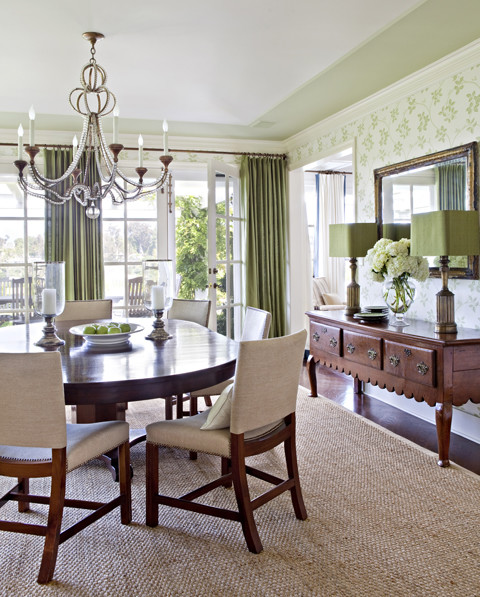 Nantucket in the Palisades traditional-dining-room