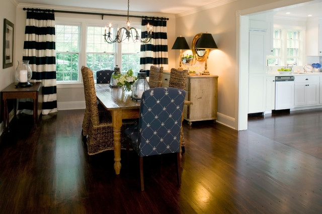 Nantucket ma traditional dining room other by for Beach glass interior designs
