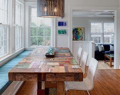 Nantucket Orange Street contemporary-dining-room
